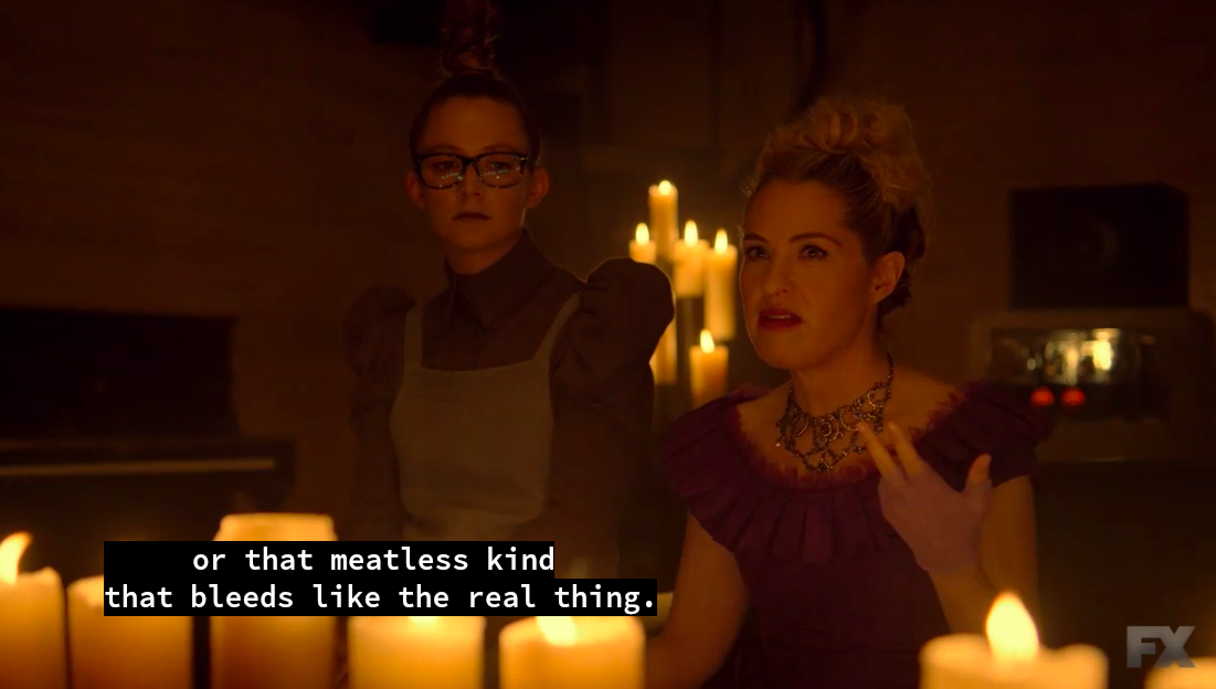 New American Horror Story References 'Veggie Burger That